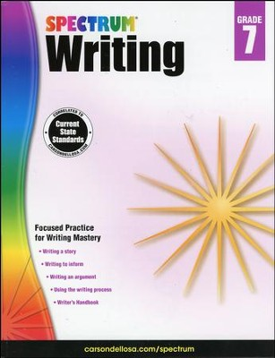 Spectrum Writing Grade 7 (2014 Update)  -