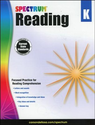 Spectrum Reading Grade K (2014 Update)  -
