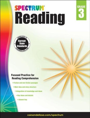 Spectrum Reading Grade 3 (2014 Update)  -