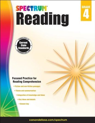 Spectrum Reading Grade 4 (2014 Update)  -