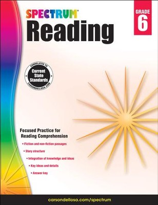 Spectrum Reading Grade 6 (2014 Update)  -