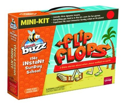 Buzz Mini Kit: Flip-Flops (Pre-K & K)  -