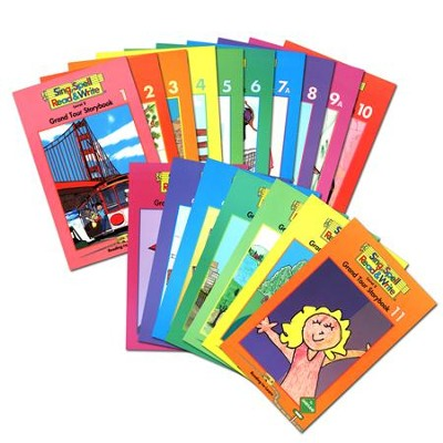 Sing, Spell, Read & Write Level 2 (Grand Tour) Storybook Readers (17 Titles)  -