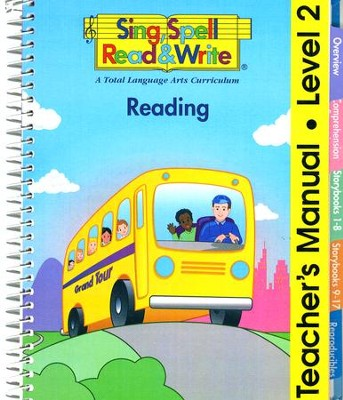 Sing, Spell, Read & Write Level 2 (Grand Tour) Reading Teacher Manual  -