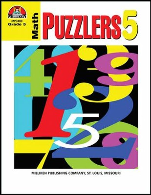 Math Puzzlers Grade 5  -