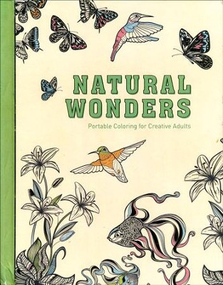 Natural Wonders: Portable Coloring for Creative Adults  -     By: Bonnier Fakta