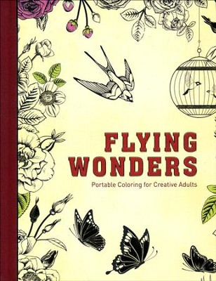 Flying Wonders: Portable Coloring for Creative Adults  -     By: Bonnier Fakta