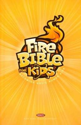 NKJV Fire Bible for Kids   -