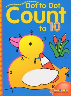 Dot to Dot Count to 10  -