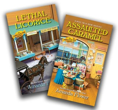 Amish Candy Shop Series, Volumes 1 & 2  -     By: Amanda Flower