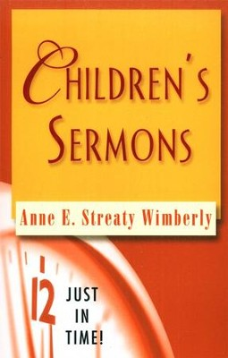 Children's Sermons  -     By: Anne E. Streaty Wimberly