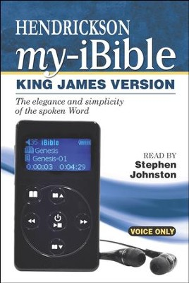 My-iBible KJV, Voice-Only Digital Bible Player   -     Narrated By: Stephen Johnston