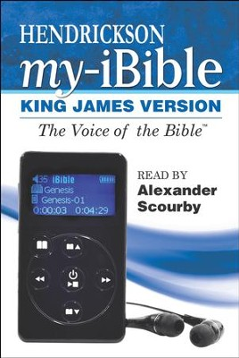 KJV Hendrickson My-iBible--voice only   -     Narrated By: Alexander Scourby