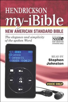My-iBible NASB--Digital Bible Player   -     Narrated By: Stephen Johnston