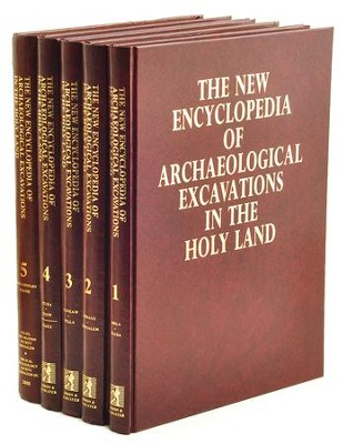 New Encyclopedia of Archaeological Excavations in the Holy Land Volumes 1-5  -