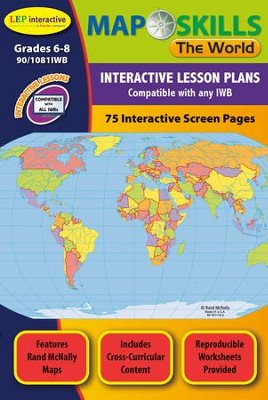 Map skills the world interactive whiteboard cd rom jessica map skills the world interactive whiteboard cd rom by jessica ashworth gumiabroncs Gallery