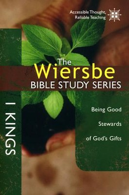 1 Kings, Wiersbe Bible Study  -     By: Warren W. Wiersbe