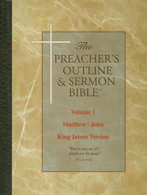 New Testament Set, 3 Vols [The Preacher's Outline & Sermon Bible, KJV]  -