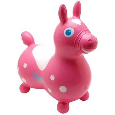 Rody Inflatable Hopping Horse, Pink   -