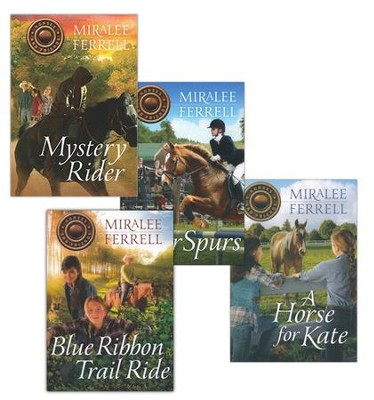 Horses and Friends Series, Volumes 1-4  -     By: Miralee Ferrell
