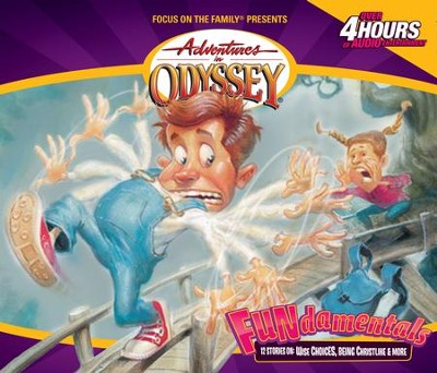Adventures in Odyssey ® #4: FUNdamentals - Puns, Parables and Perilous Predicaments  -