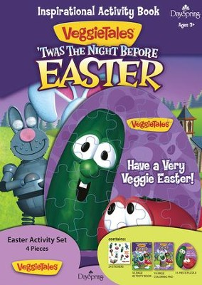 Veggie Tales Night Before Easter Activity Set  -
