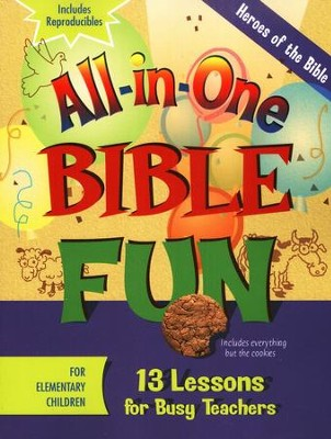 All-in-One Bible Fun: Heroes of the Bible (Elementary edition)  -