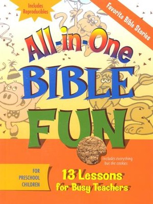 All-in-One Bible Fun: Favorite Bible Stories, Preschool Edition  -