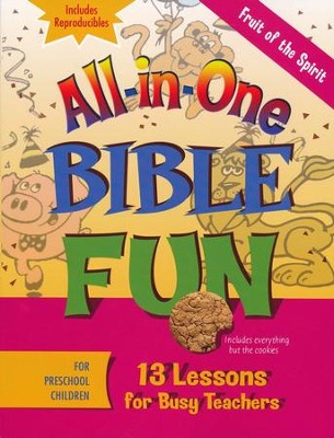 All-in-One Bible Fun: Fruit of the Spirit (Preschool edition)  -
