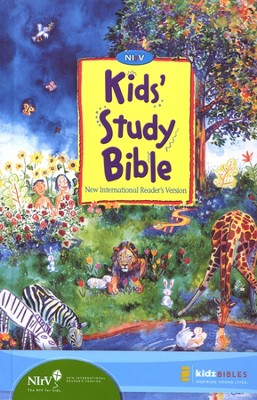 NIrV Kids' Study Bible Revised, hardcover - Slightly Imperfect  -