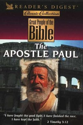 Great People of the Bible: The Apostle Paul, DVD   -