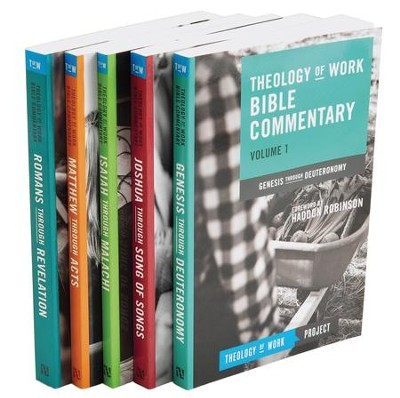 Theology of Work Bible Commentary Boxed Set, 5 Volumes   -
