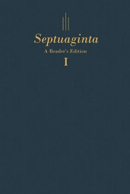 Septuaginta: A Reader's Edition - hardcover blue, 2 volumes  -     Edited By: Gregory R. Lanier, William A. Ross     By: Edited by Gregory R. Lanier & William A. Ross