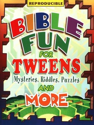 Bible Fun for Tweens: Mysteries, Riddles, and More  -     By: Marcia Stoner