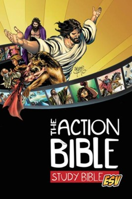 ESV Action Study Bible, Hardcover   -
