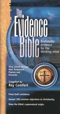 The Evidence Bible Pocket New Testament, Psalms, and Proverbs  -     By: Ray Comfort