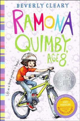 #6: Ramona Quimby, Age 8  -     By: Beverly Cleary     Illustrated By: Tracy Dockray