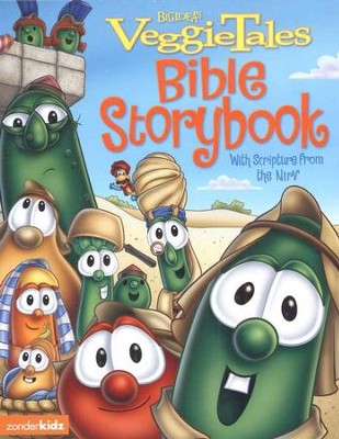 VeggieTales Bible Storybook: With Scripture from the NIrV  -     By: Cindy Kenney