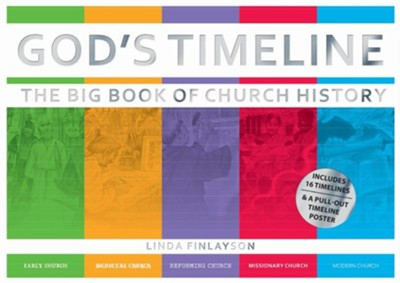 God's Timeline: The Big Book of Church History  -     By: Linda Finlayson