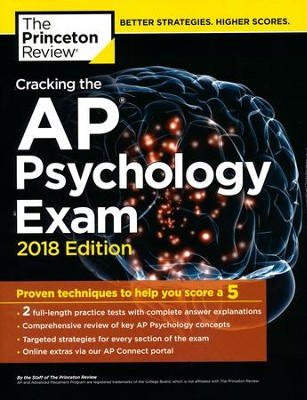 Cracking the AP Psychology Exam, 2018 Edition  -     By: Princeton Review