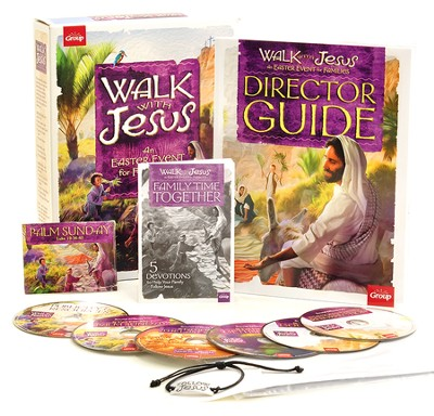 Walk With Jesus Kit: An Easter Event for Families  -