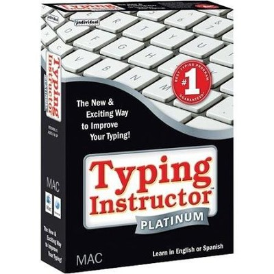 Typing Instructor Platinum CD-Rom for Macintosh   -