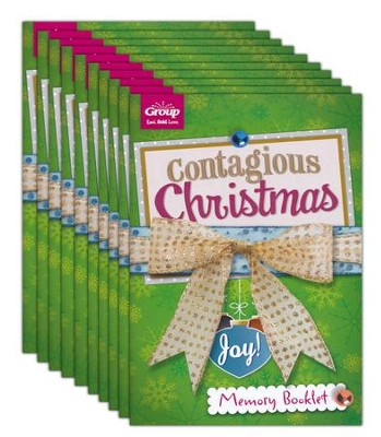 Contagious Christmas Participant Booklets, Package of 10  -