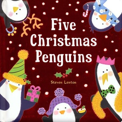 Image result for five christmas penguins