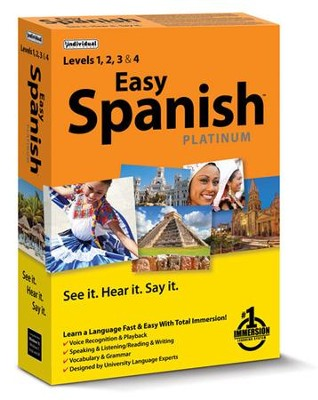 Easy Spanish Platinum on CD-ROM   -