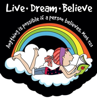 Live Dream Believe Notepad  -
