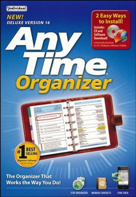 AnyTime Organizer Deluxe CD-Rom, Version 14   -