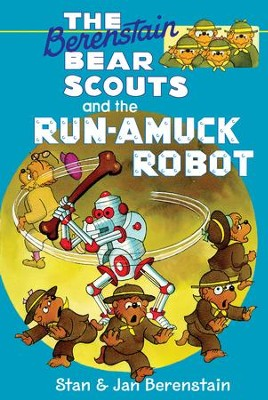 The Berenstain Bears Chapter Book: The Run-Amuck Robot - eBook  -     By: Stan Berenstain, Jan Berenstain     Illustrated By: Stan Berenstain, Jan Berenstain