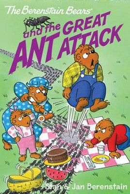 The Berenstain Bears Chapter Book: The Great Ant Attack - eBook  -     By: Stan Berenstain, Jan Berenstain     Illustrated By: Stan Berenstain, Jan Berenstain