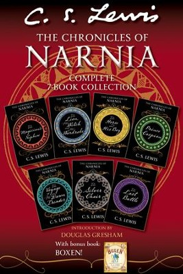 The Chronicles of Narnia Complete 7-Book Collection with Bonus Book: Boxen - eBook  -     By: C.S. Lewis     Illustrated By: Pauline Baynes